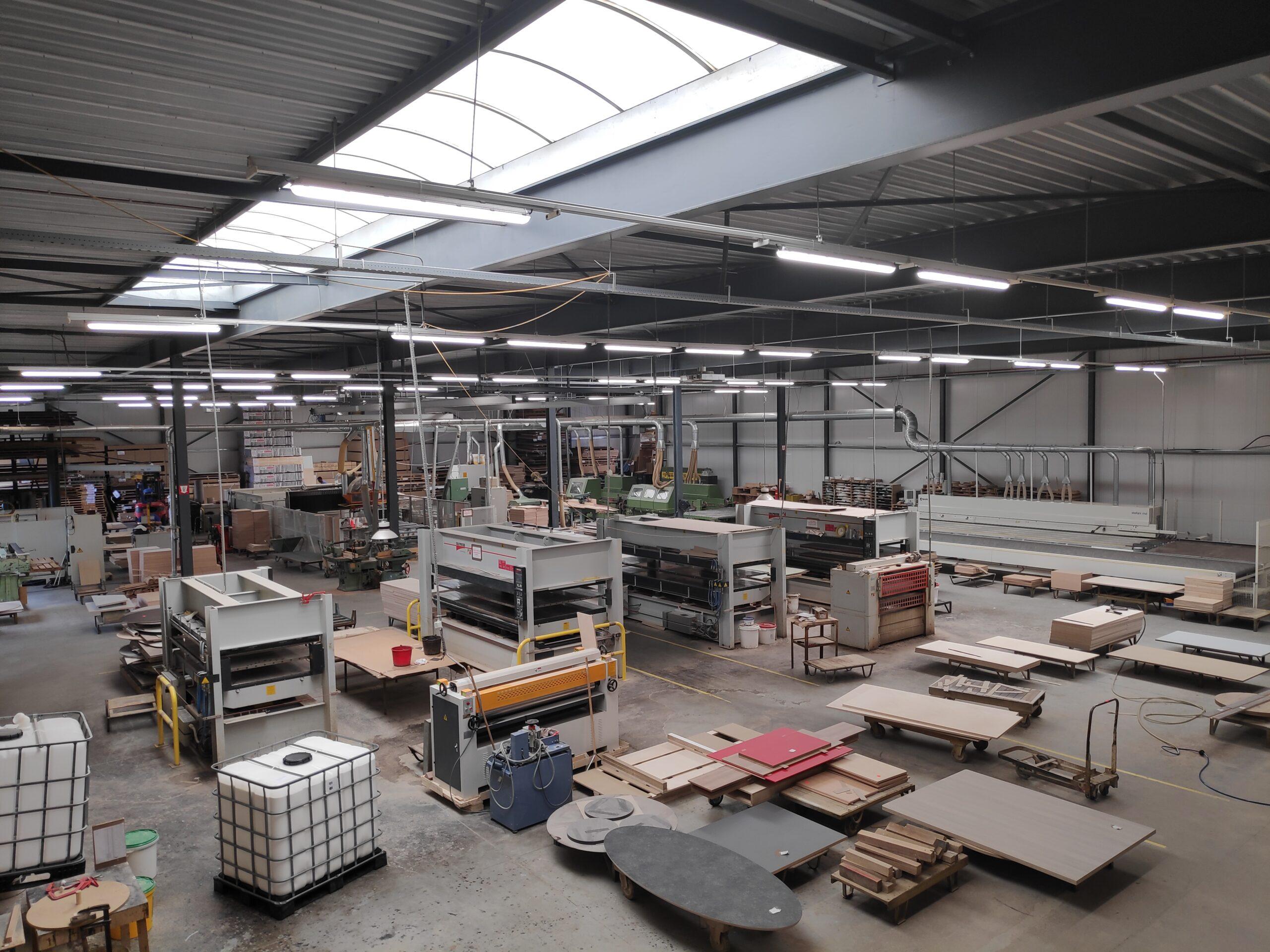overzicht fabriekshal